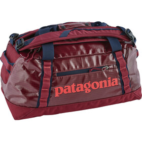 Patagonia Black Hole Travel Luggage 45l red